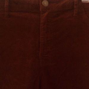 Mossimo Supply Co. Pants - Maroon corduroy pants sway